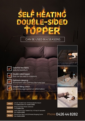 Picture of Self Heating Topper